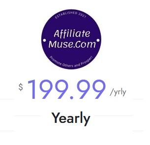 AffiliateMuse.Com Yearly Membership